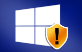Windows mit Schild-Logo