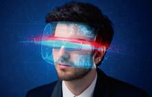 Datenbrille zeigt Informationen