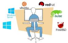Verschiedene Betriebssysteme und ein Nutzer
