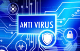 Antivirus-Schaltkreis mit Schutzschild