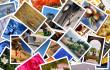Stapel Fotos für das Internet
