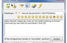 SMS vom PC aus verschicken