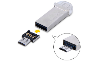 OTG-Adapter für USB-Sticks