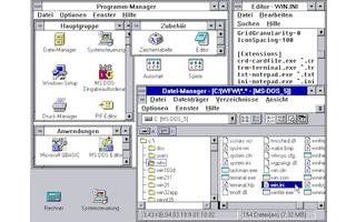 Microsoft Windows für Workgroups 3.11