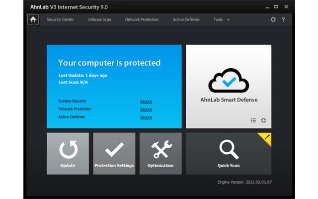 AhnLab V3 Internet Security