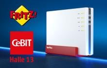 AVM zeigt sieben neue Fritzbox-Modelle auf der CeBIT
