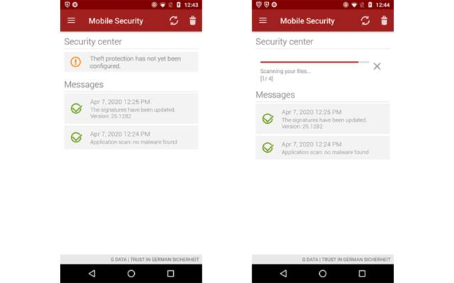 GData Mobile Security