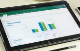 Excel auf dem Tablet