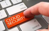 Cloud Security auf Tastatur