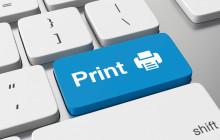 Print-Taste auf Tastatur