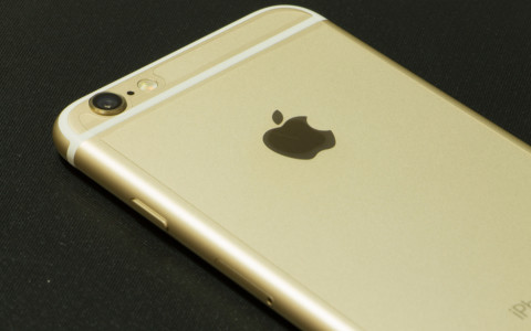 iPhone 6 in gold