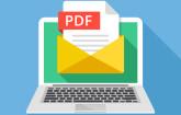 PDF auf dem Notebook