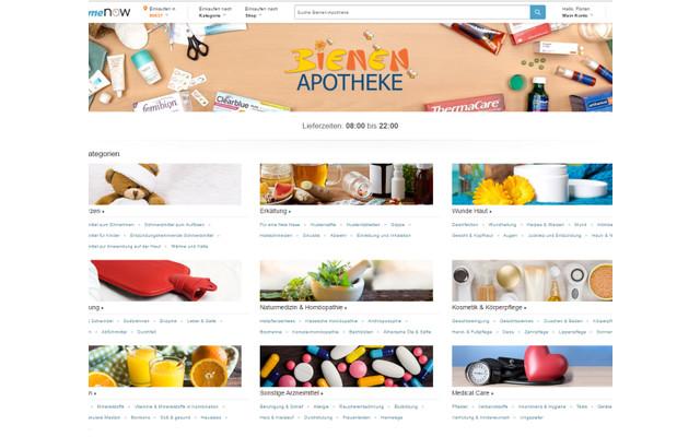 Amazon Prime Now Bienen Apotheke