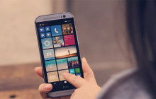 HTC One mit Windows Phone 8.1