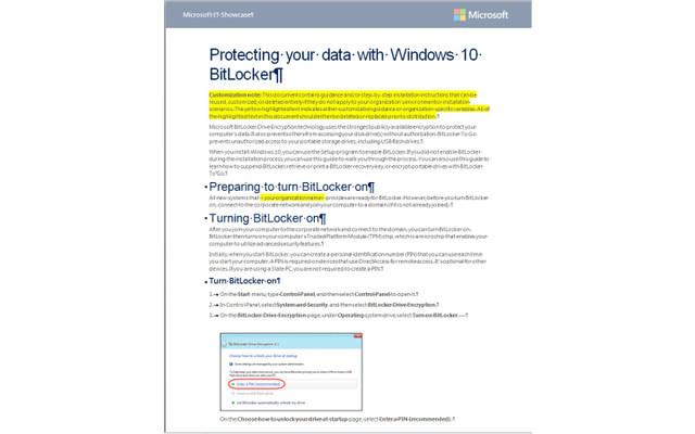 Schützen Sie Ihre Daten mit Windows 10 BitLocker