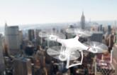 Drohne über New York