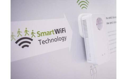 Das Smart Wifi von devolo nutzt die Stromleitung zur Vernetzung.