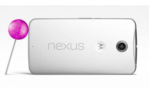 Nexus 6 mit Lollipop