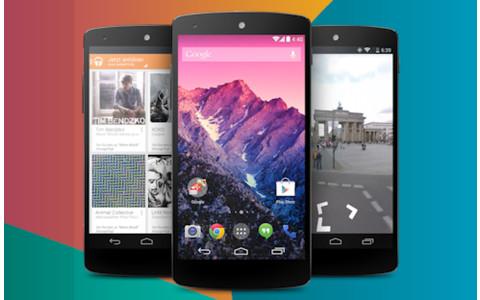 Nexus 5 mit KitKat