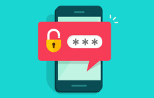 Password am Smartphone