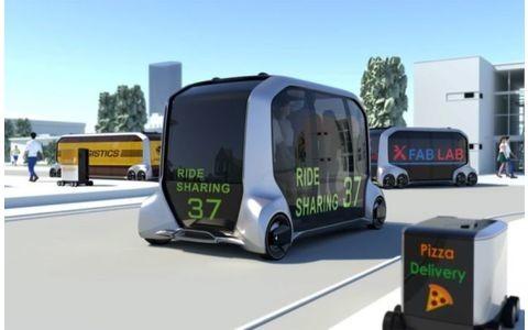 Autonomes Fahrzeug von Toyota