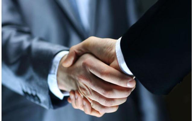 Business-Men-Handschlag