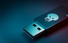 USB-Stick mit Malware