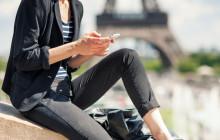 Smartphone in Frankreich