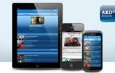 Die Mediathek der ARD gibt es nun auch als App für Android und iOS. Neben TV-Livestreams bietet die App Radio-Livestreams sowie Videos auf Abruf.