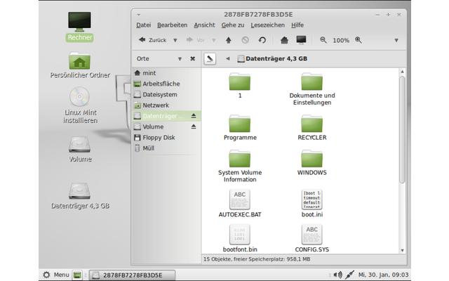Linux Mint ist ein intuitiv nutzbares Live-System auf Basis von Ubuntu. Es enthält zahlreiche vorkonfigurierte Anwendungen, Internet-Tools sowie Multimedia-Programme. Linux Mint eignet sich aufgrund des Mate-Desktops mit dem sorgfältig rubrizierten Startm