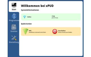 Xpud ist eine minimalistische Linux-Distribution für Internetnutzer mit recht ansprechender Bedienerführung. Der Schwerpunkt des Live-Systems liegt auf drei vorinstallierten Programmen – Firefox, Mplayer zum Abspielen von Musik und Filmen sowie Xterm.