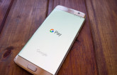 Google Pay auf Smartphone