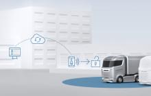 Digitaler Schlüssel für den Lkw