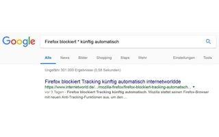 Google-Lücke mit * füllen