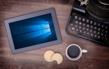 Tablet mit Windows 10